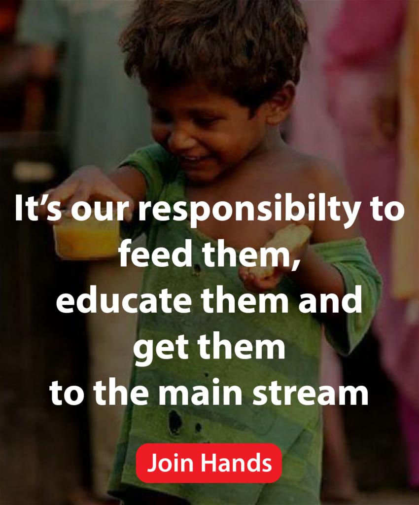 educate slum child