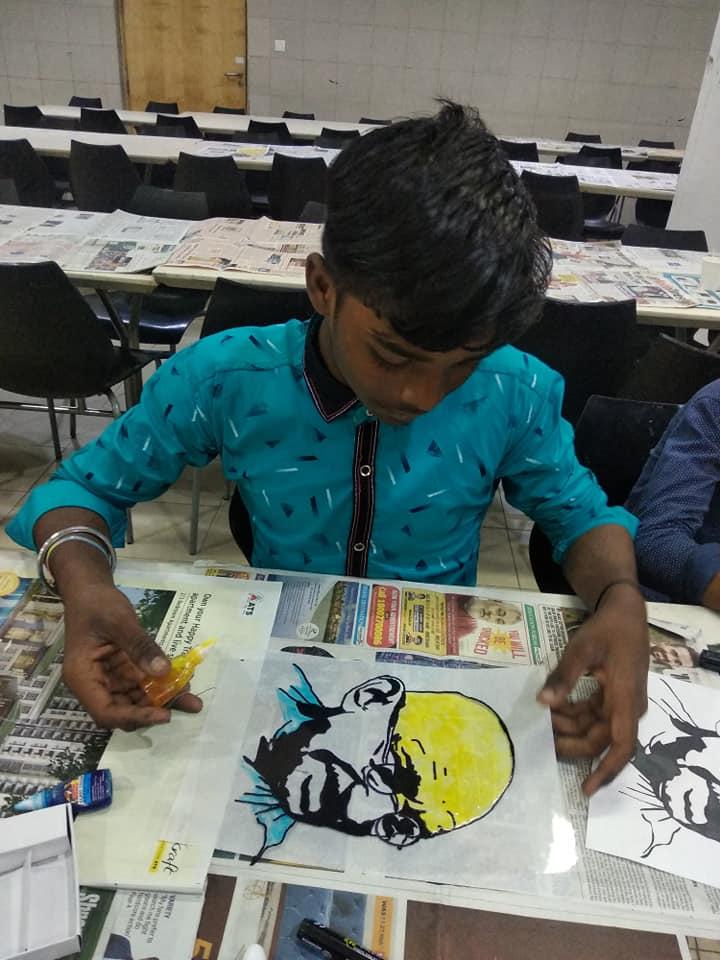 charity for underprivileged children noida